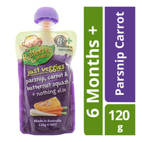 Rafferty's Garden Baby Food Just Veggies - Parsnip Carrot