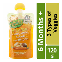 Rafferty's Garden Baby Food Just Veggies - 3 Types of Veggies