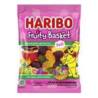 Haribo Gummy Candies - Fruity Basket (Soft)