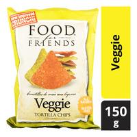 Food For Friends Tortilla Chips - Veggie