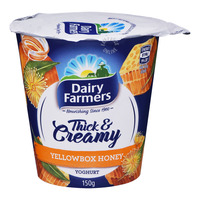 Dairy Farmers Thick & Creamy Yoghurt - Yellow Box Honey
