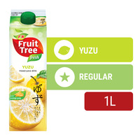 F&N Fruit Tree Fresh Juice - Yuzu with Orange Pulp