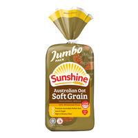 Sunshine Wholemeal Bread - Australian Oat Soft Grain