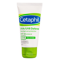 Cetaphil Face & Body Lotion - UVA/UVB Defense (SPF 50+/UVA 28)