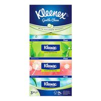 Kleenex Facial Tissue Box - Gentle Clean (3ply)