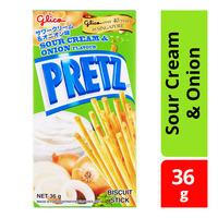 Glico Pretz Biscuit Sticks - Sour Cream & Onion