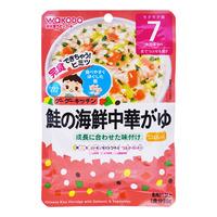 Wakodo Baby Ready To Eat Pouch - Rice Porridge (Flounder & Egg)