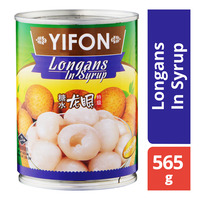 Yifon Can Fruit - Longans In Syrup