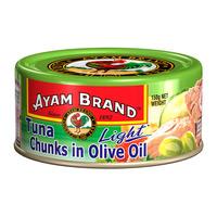 Ayam Brand Tuna Chunks - Olive Oil (Light)