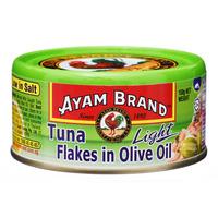 Ayam Brand Tuna Flakes - Olive Oil (Light)