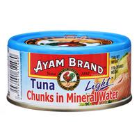 Ayam Brand Tuna Chunks - Mineral Water (Light)