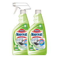 Magiclean Kitchen Cleaner + Refill - Green Apple