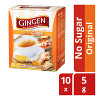 Gingen Instant Ginger Powder - Original 50G (10S)