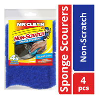 Mr Clean Sponge Scourers - Non-Scratch