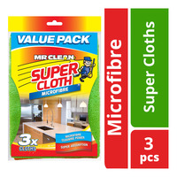 Mr Clean Microfibre Super Cloths