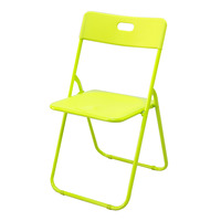 HomeProud Foldable Plastic Chair - Green