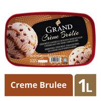 King's Grand Ice Cream - Creme Brulee