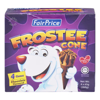 FairPrice Frostee Cone Ice Cream - Chocolate