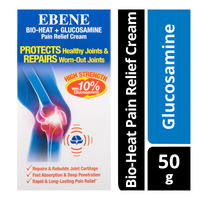 Ebene Bio-Heat Pain Relief Cream - Glucosamine