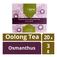 Green Pot Oolong Tea -  Osmanthus