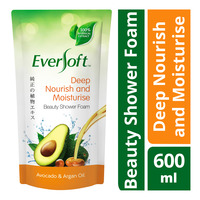 Eversoft Beauty Shower Foam Refill - Deep Nourish and Moisturise