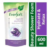 Eversoft Beauty Shower Foam Refill - Hydrate and Relax