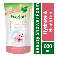 Eversoft Beauty Shower Foam Refill - Hydrate & Brighten