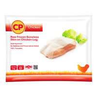 CP Raw Frozen Chicken Leg - Boneless Skin-on