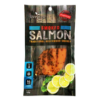 Live Well Premium Salmon - Smoked (Black Pepper)