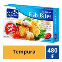 Pacific West Frozen Fish Bites - Tempura