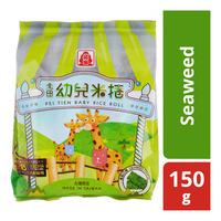 Pei Tien Baby Rice Roll - Seaweed