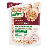 Naturel Organic Rice - Mixed Brown and Red