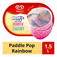Wall's Ice Cream Tub - Paddle Pop Rainbow