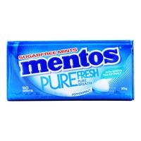Mentos Pure Fresh Sugar Free Mints - Peppermint
