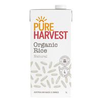 Pureharvest Organic Rice Milk  1L