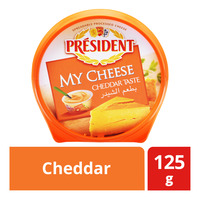 President My Cheese Spreadable Cheese - Cheddar