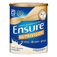 Abbott Ensure Adult Milk Formula - NutriVigor (Vanilla)