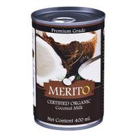 Merito Certified Organic Coconut Milk