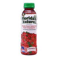 Florida's Natural Cocktail Bottle Juice - Cranberries