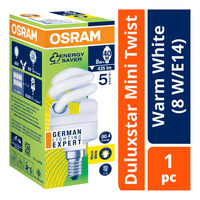 Osram Duluxstar Mini Twist Bulb - Warm White (8 W/E14)