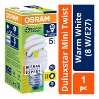 Osram Duluxstar Mini Twist Bulb - Warm White (8 W/E27)