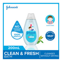 Johnson's Baby Bath Wash - Active Fresh