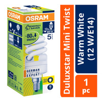 Osram Duluxstar Mini Twist Bulb - Warm White (12 W/E14)
