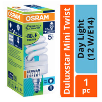 Osram Duluxstar Mini Twist Bulb - Day Light (12 W/E14)