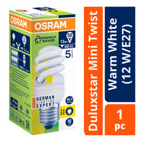 Osram Duluxstar Mini Twist Bulb - Warm White (12 W/E27)
