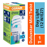 Osram Duluxstar Mini Twist Bulb - Day Light (12 W/E27)