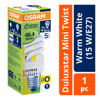 Osram Duluxstar Mini Twist Bulb - Warm White (15 W/E27)