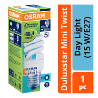 Osram Duluxstar Mini Twist Bulb - Day Light (15 W/E27)