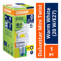 Osram Duluxstar Mini Twist Bulb - Warm White (20 W/E27)