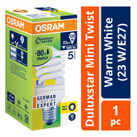 Osram Duluxstar Mini Twist Bulb - Warm White (23 W/E27)